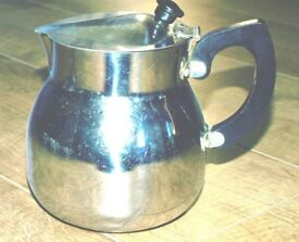 Vintage Towercrome lidded jug/pot