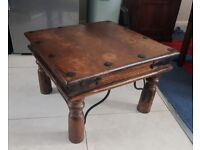 Gorgeous solid indian wood coffee table