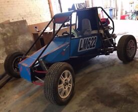 Autograss Car Class 9 Vauxhall Redtop Engine Special Buggy car c20xe NEED GONE