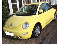 2000 VW Beetle 2.0 MOT Oct 17