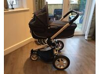 Quinny Buzz z - 2 Piece Travel System, Carry Cot/Stroller