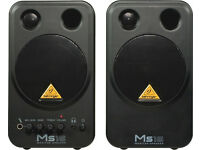 PC monitor speakers Behringer MS16.