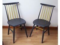 Two sturdy unique chairs
