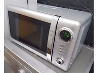 Wilko Microwave 800watts 20 litres, silver colour