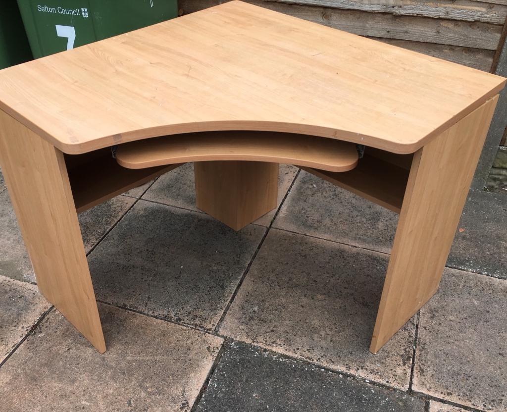 Solid Wood Corner Desk In Southport Merseyside Gumtree