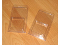Plastic Clamshell Retail Packaging For Square Products
