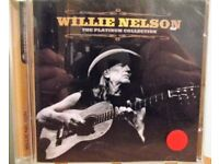 WILLIE NELSON – THE PLATINUM COLLECTION CD – 8122-79931-6