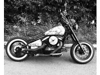 Kawasaki VN800 Custom show winning Bobber