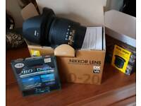 Nikon Nikkor AF-P DX 10-20mm F/4.5-5.6 G VR Wide Angle lens