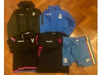 Selection of Crystal Palace FC clothing - excellent condition
