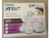Philips Avent Single Breast Milk Pump Set, SC334, SC332, RRP £80