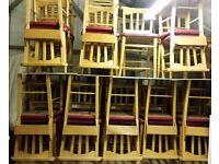 1 x Church Chapel Cafe Bar Restaurant Chair (more than 50 available)