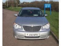 2008 Chrysler Sebring 2.0 Diesel Limited - New MOT