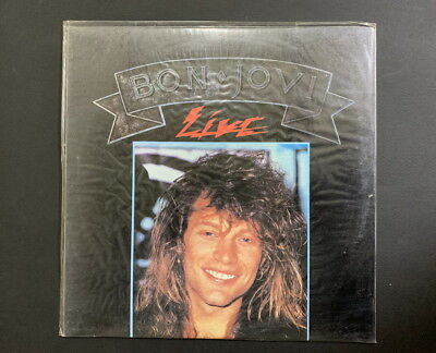 Bon Jovi-Live KOREA ONLY ORIGINAL PRESS LP SEALED