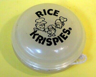 Vintage 1989 Duncan Glow Imperial Yoyo Kelloggs Rice Krispies Snap crackle Pop*