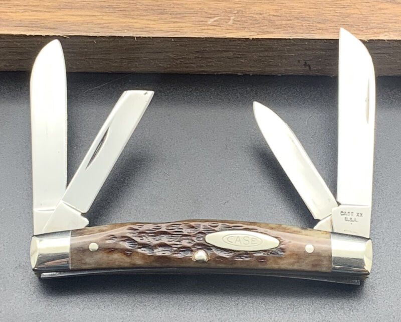 Vintage 1979-1980 Case XX USA 10 Dot Transition 64052 Congress JIG BONE KNIFE