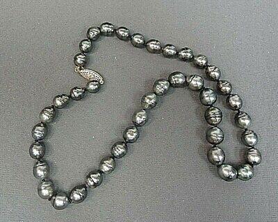 Tahitian Pearl Necklace Circle Baroque 18