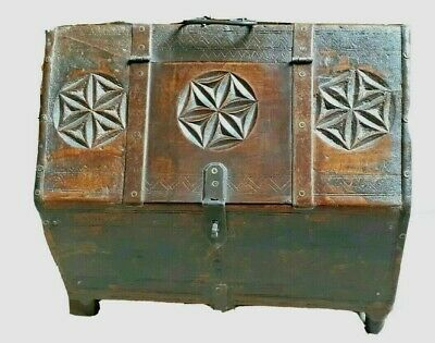 Chiseled Indian Jewelry Holder Handcrafted Sandlewood Jewelry Holder