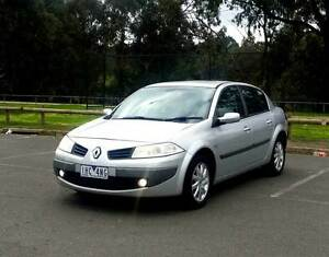 2007 DIESEL RENAULT MEGANE GOOD CONDITION + LONG REGO Preston Darebin Area Preview
