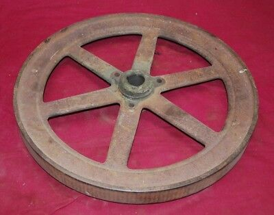 1 12 Hp John Deere Model E Pulley Side Flywheel Gas Engine Motor