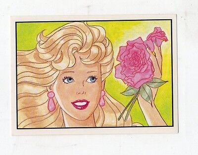 figurina - BARBIE 1989 PANINI - NUMERO 50