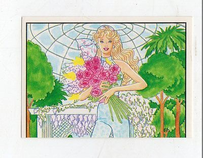 figurina - BARBIE 1989 PANINI - NUMERO 77