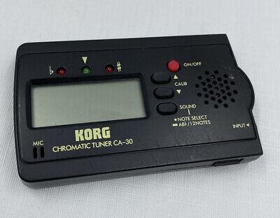 Korg CA-30 Chromatic Tuner Guitar Tuner