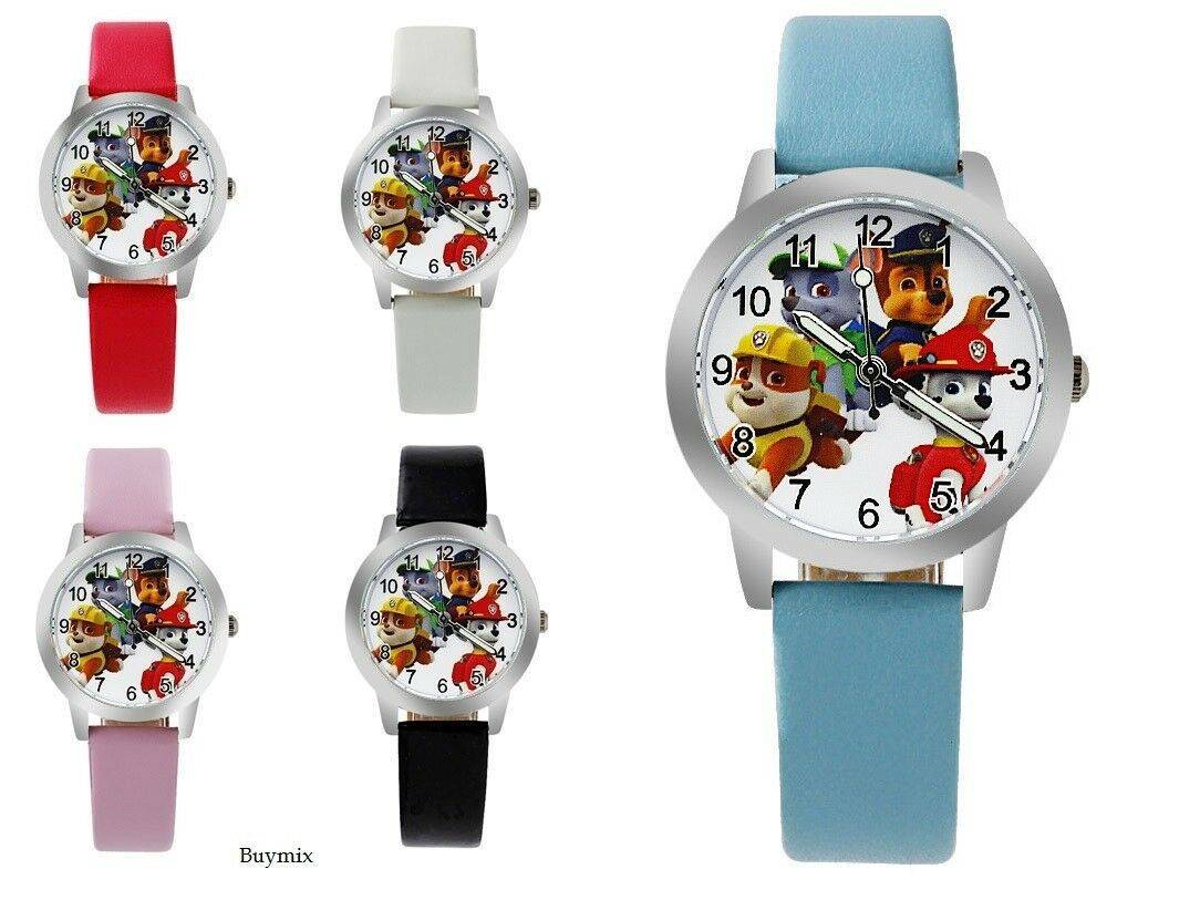 Paw Patrol Wrist Watch Children Kids Boy's Girl's Gift Party Bag Stocking Filler