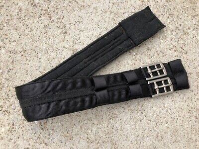 """EquiRoyal Synthetic Dressage Girth 28/"""" Black 21-574-2-28"""
