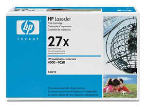 HP C4127X 27X Genuine Toner Cartridge NEW BUY NOW