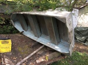 12ft Aluminum Sears boat for sale