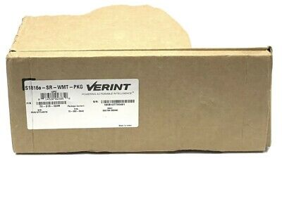 Verint S1816e-sr H.264 Video Encoder 16 Camera Ip Security Surveillance System