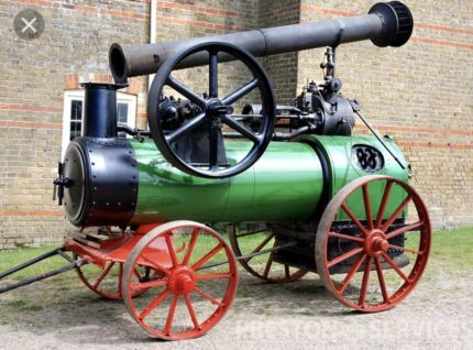 Wanted: Portable Steam engine wanted Paul