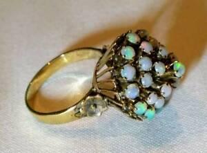 Vintage Thai Princess Opal Ring
