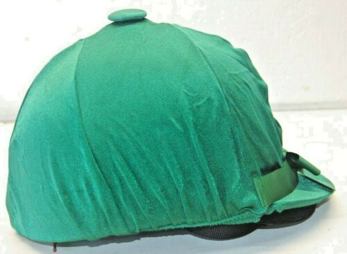 Hunter w/ Bow Helmet Helpers Equestrian Helmet Cover Horse Tack