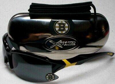 Read Listing! Boston Bruins Domed XLGE 3D LOGO on BLK Wrap Sunglasses. 3 PC (Sunglasses List)
