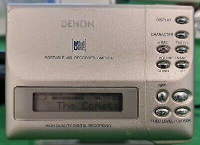 40. Denon DMP-R50 Mini Disc Player