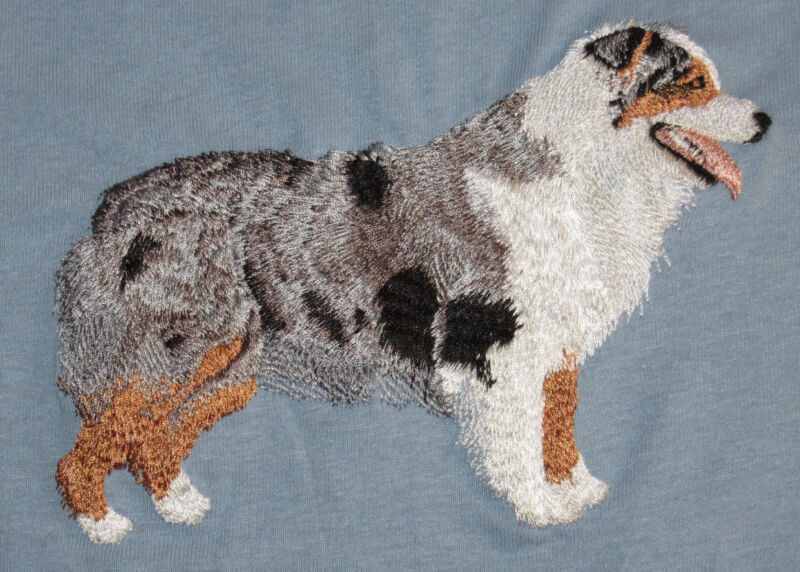 Embroidered Fleece Jacket - Australian Shepherd I1240 Sizes S - XXL