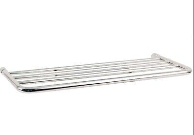 - Ginger XX40/24-26 Chrome Hotel Shelf Frame And Mounting Kit - Satin Nickel NIB