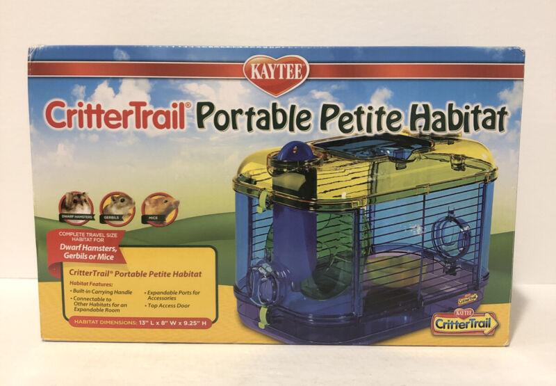 Kaytee CritterTrail Portable Petite Habitat **FREE SHIPPING** NEW FACTORY SEALED