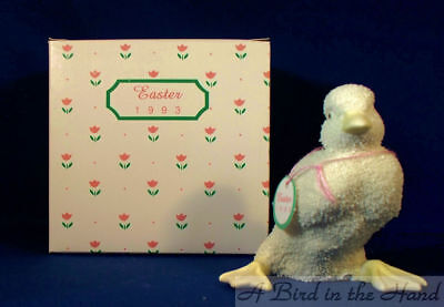 Dept 56 Easter, 1993 SMALL EASTER DUCK, New in Box #7281-8
