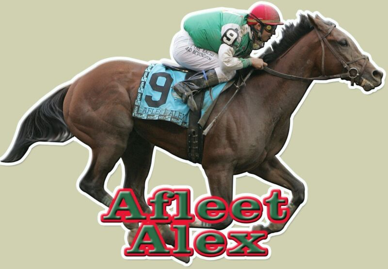 Afleet Alex  Full Color Decal