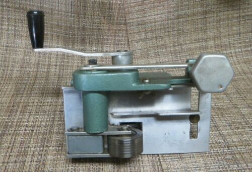 Harry M. Fraser Cloth Stripping Machine