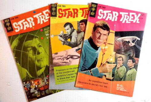Original 1967-77 Star Trek Gold Key/Whitman Comic Book #1-61 Your Choice