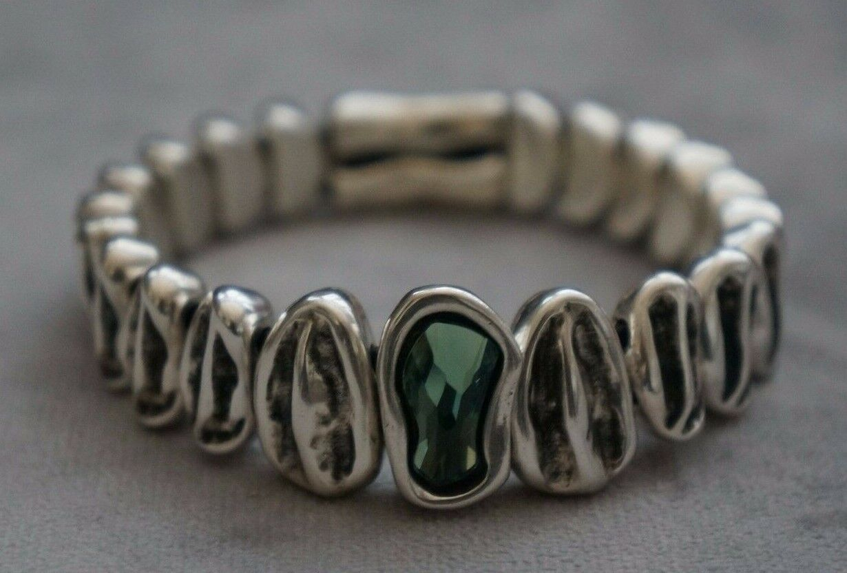 nwt silver mint elements crystal reptile stretch