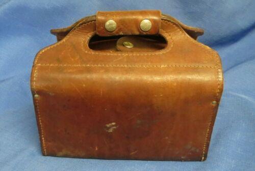 Vintage George Lawrence Leather Shotgun Shell Carry Bag
