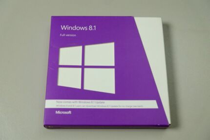 Microsoft Windows 8.1 full installation disc and licence
