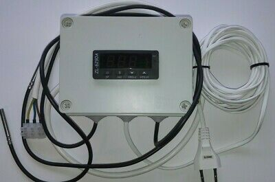 Weather-compensated Heating System. Home climate controller for mixing  valve.