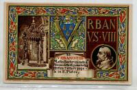 Papa Urbano Viii Catholic Pope Saint-père Art Nouveau Pc Circa 1900 Armanino - armani - ebay.it