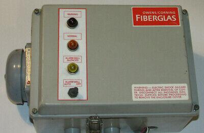 Warrick Controls Industrial Alarm In Fiberglass Enclosure With 27a1e0 Interface